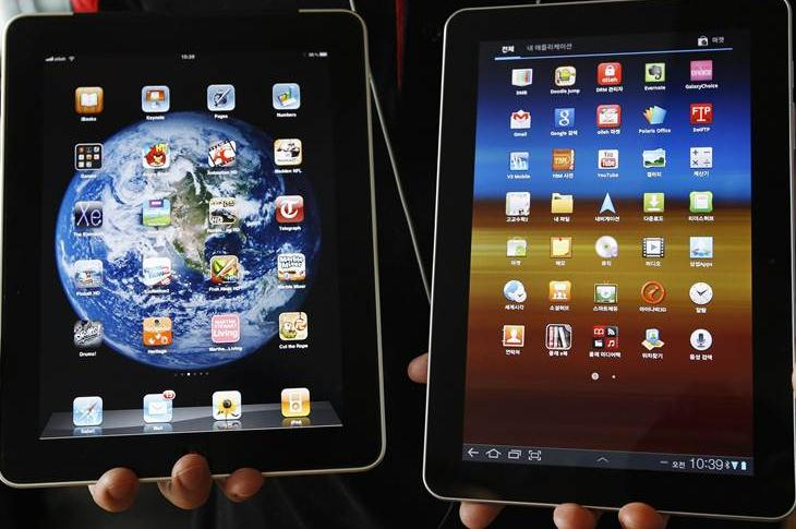 ipad ili samsung note